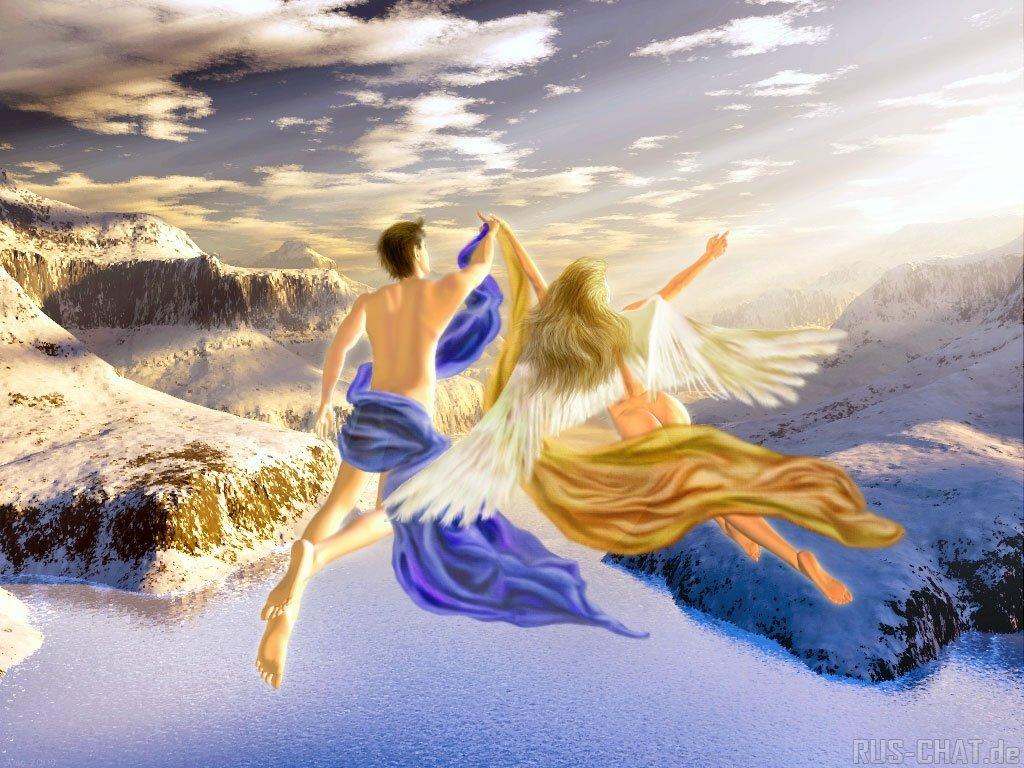 Чудо Небесного Полёта Егора и Светланы на Крыльях Любви